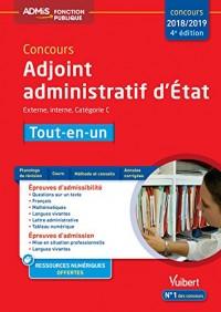 Concours Adjoint Administratif d'Etat Cat C Tout en un 4e Edt