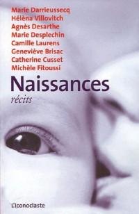 Naissances : Récits
