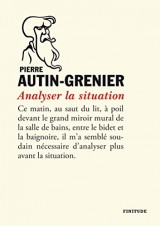 Analyser la situation