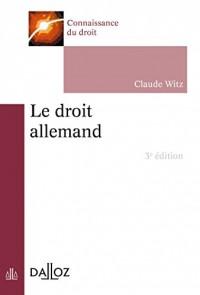 Le droit allemand - 3e éd.