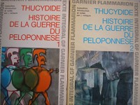 histoire de la guerre du peloponnese tomes 1 et 2 (introducion , notes et traduction par J. voilquin - notes de jean capelle)