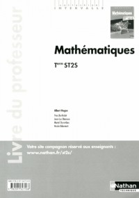 Mathematiques Term St2s  (Intervalle)  Professeur  2013