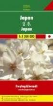 Carte routière : Japon