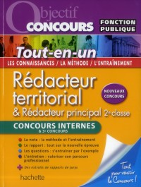 Objectif Concours - Redacteur Territorial - Concours Interne