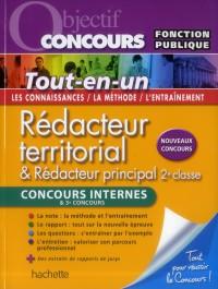 Objectif Concours - Redacteur Territorial - Concours Interne