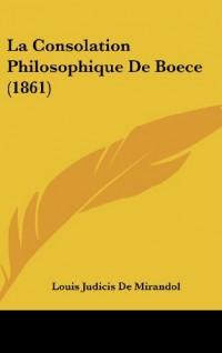 La Consolation Philosophique de Boece (1861)