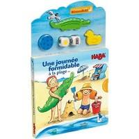 Haba - Livre-puzzle interactif - Une journée formidable à la plage