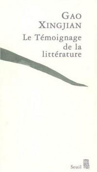 Le Témoignage de la littérature