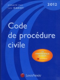 Code de Procedure Civile 2012