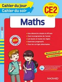 Cahier du jour/Cahier du soir Maths CE2 - Nouveau programme 2016