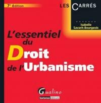 L'Essentiel du Droit de l'Urbanisme