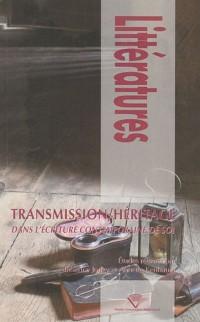 Transmission / Héritage dans l'écriture contemporaine de soi