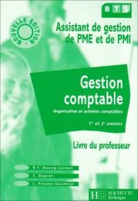 Gestion comptable BTS PME / PMI Livre du professeur édition 2003
