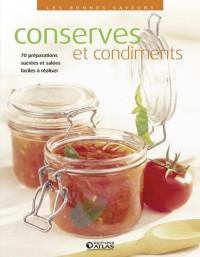 Conserves et condiments