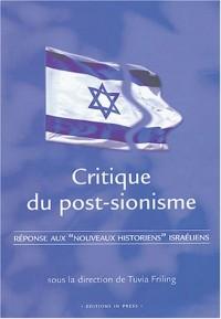 Critique du post-sionisme : Réponses aux