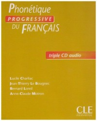 Phonetique Progressice Du Francais, Debutante Triple Cd Audio