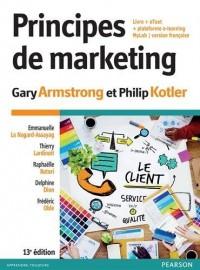 Principes de marketing 13e édition : Livre + eText + plateforme e-learning MyLab version Française