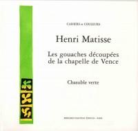 Les gouaches découpées de la Chapelle de Vence : Chasuble verte