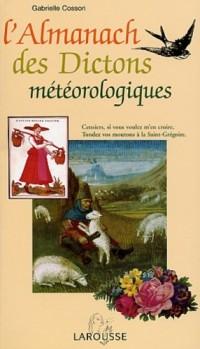 L'Almanach des dictons météorologiques