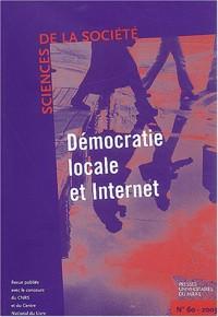 Sciences de la Société, N° 60 Octobre 2003 : Démocratie locale et Internet
