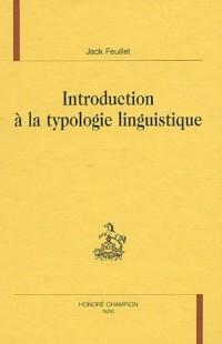 Introduction à la typologie linguistique