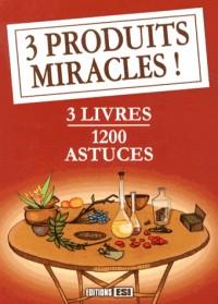 Coffret Carton 3 V- 3 Produits Miracles Indispensables
