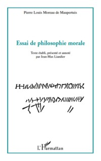 Essai de philosophie morale