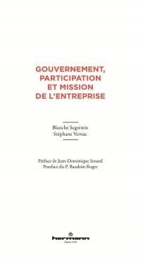 Gouvernement, participation et mission de l'entreprise