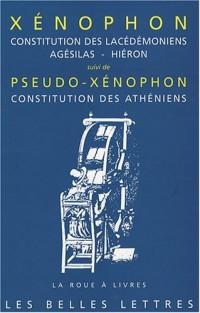 Constitution des lacédémoniens : Agésilas - Hiéron