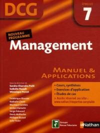 Management Epreuve 7 - DCG - Manuel et applications