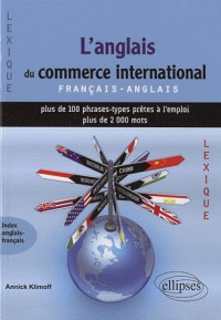 Anglais du commerce international lexique