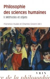 Philosophie des sciences humaines : Volume 2, Méthodes et concepts