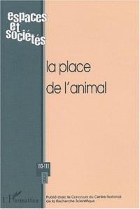 Place de l'animal