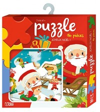 Ma boite à jeux: Puzzle joyeux Noël ! - Dès 3 ans