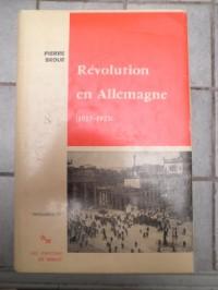 Révolution en Allemagne, 1917 -1923