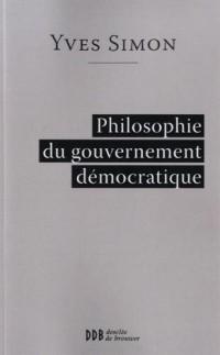 Philosophie du gouvernement démocratique