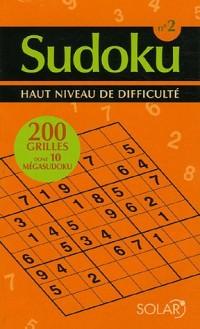 Sudoku 2 : Haut niveau de difficulté