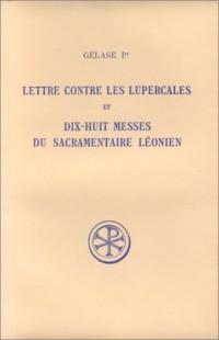 Lettre contre les Lupercales et dix-huit messes du sacramentaire Léonien