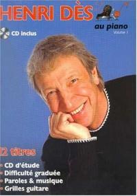 Partition : Henri Des au piano vol.1 + CD