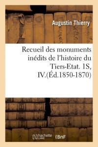 Recueildu Tiers Etat  1s  IV  ed 1850 1870