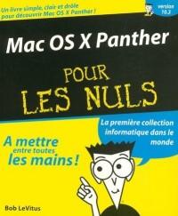 Mac OS X Panther pour les nuls
