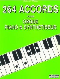 Partition: 264 accords pour orgue, piano et synthetiseur