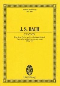 Kantate Nr. 127 - Herr Jesu Christ, wahr'r Mensch und Gott BWV 127