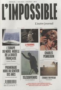 L'impossible, N° 3, mai 2012 :