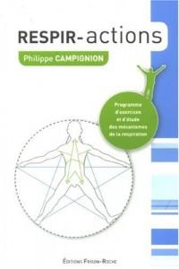 Respir-Actions : Programme d'exercices et d'étude des mécanismes de la respiration