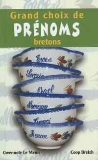 Grands choix de prénoms bretons