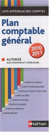 Plan comptable général : Liste intégrale des comptes