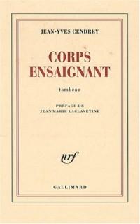 Corps ensaignant : Tombeau