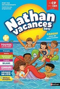 Nathan Vacances primaire - Du CP vers le CE1 - Cahier de vacances