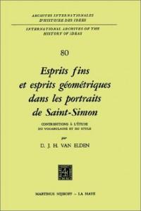 Esprits Fins Et Esprits Geometriques Dans Les Portraits De Saint-Simon